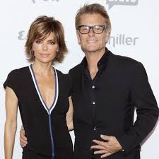 Lisa Rinna with her husband Harry