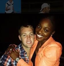 Sloane Stephens with her ex-boyfriend Jack