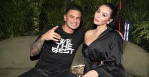 Pauly D with his ex-girlfriend Jenni