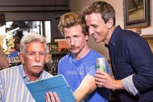 Seth Meyers with his father & brother