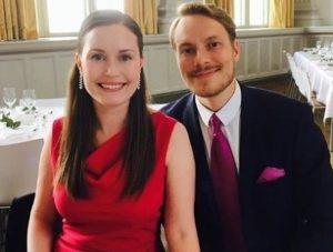 Markus Raikkonen with his wife