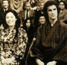 Steven Seagal with his ex-wife Miyako