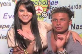 Pauly D with his ex-girlfriend Ricio