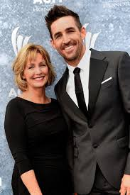 Jake Owen with his mother
