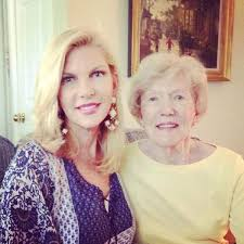 Abby Huntsman with her mother