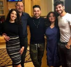 Alan Bersten with his family