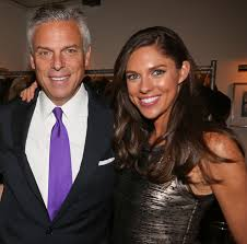 Abby Huntsman with her father
