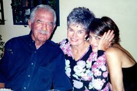 Lisa Rinna with her parents