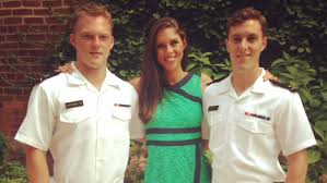 Abby Huntsman with her brothers
