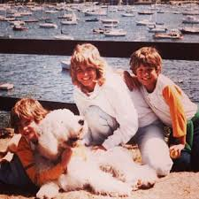 Seth Meyers with his mother & brother