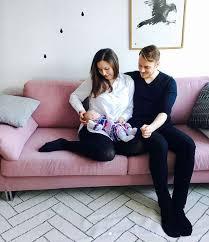 Markus Raikkonen with his wife & daughter