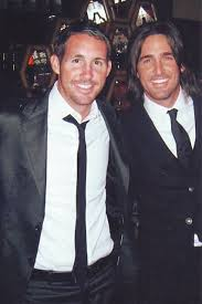 Jake Owen with his brother