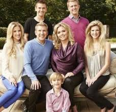 Kyle Chrisley with his family