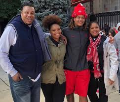 Chase Young with his family