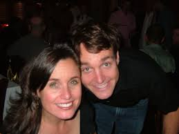 Will Forte with his sister