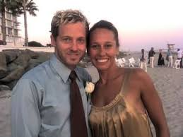Toby Mac with his wife