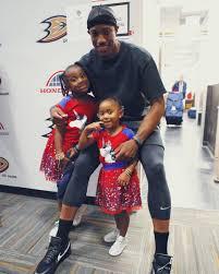 DeMar DeRozan with his daughters