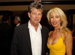 David Foster with his ex-wife B.J.
