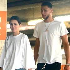 Kendall Jenner with her ex-boyfriend Ben