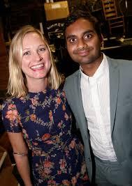 Aziz Ansari with his ex-girlfriend Courtney