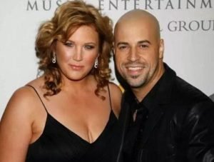 Deanna Daughtry with her husband