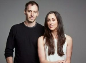 Philip Sternberg with his wife