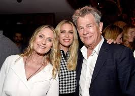 David Foster with his ex-wife Rebecca