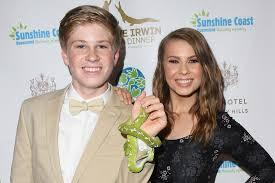 Bindi Irwin with her brother