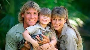 Bindi Irwin with her parents