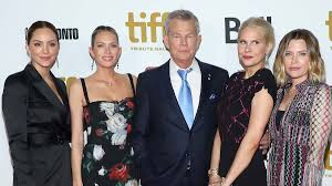 David Foster with his daughters