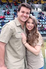 Bindi Irwin with her husband