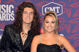 Cade Foehner with his wife