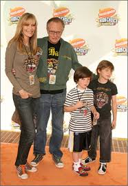 Shawn Southwick with her husband & son