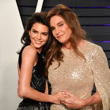 Kendall Jenner with her mother
