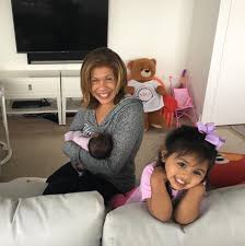 Hoda Kotb with her daughters
