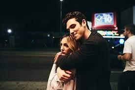 Julia Michaels with her ex-boyfriend Ari