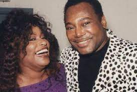 Chaka Khan with her ex-husband Hassan