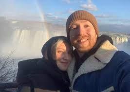 Julia Michaels with her boyfriend JP