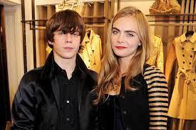 Cara Delevingne with her ex-boyfriend Jake
