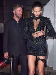 Adriana Lima with her ex-boyfriend Julian