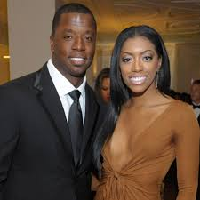 Porsha Williams with her ex-husband Kordell
