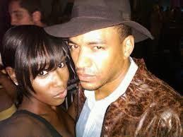 Bria Myles with her ex-boyfriend Laz