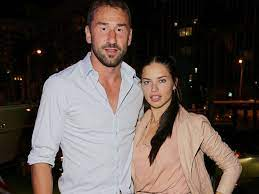 Adriana Lima with her ex-husband Marko