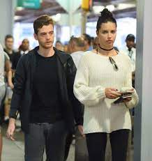 Adriana Lima with her ex-boyfriend Metin