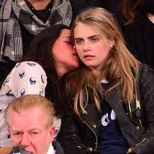Cara Delevingne with her ex-girlfriend Michelle