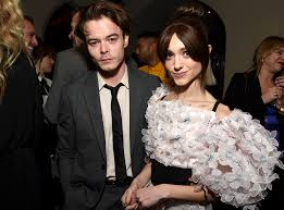 Charlie Heaton with his wife Natalia
