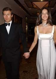 Adriana Lima with her ex-boyfriend Prince