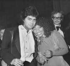 Chaka Khan with her ex-husband Richard