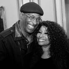 Chaka Khan with her brother