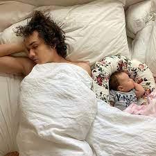Benjamin Wadsworth with his daughter